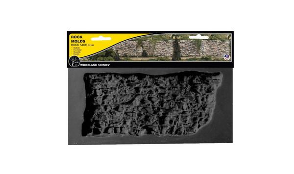 Woodland Scenics C1248 Rock Mold - Rock Face