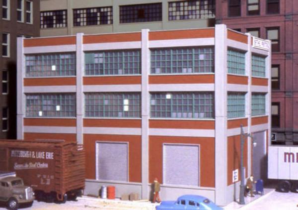 City Classics 103 HO Smallman Street Warehouse Kit