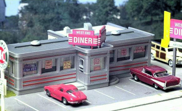 City Classics 110 HO Route 22 Diner Kit