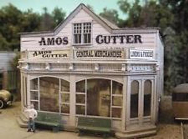 BAR MILLS 462 HO Amos Cutter General Merchandise - Laser-Cut Craftsman Kit
