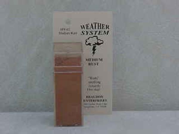 Bragdon FF-62 Weathering Powder - Medium Rust