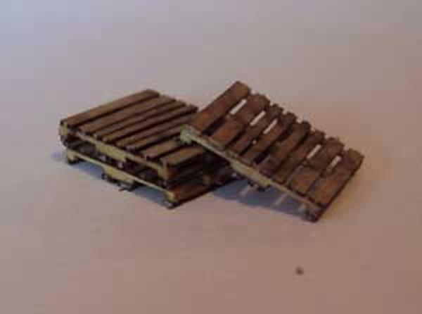 Osborn Models 1016 HO 20 pk Pallets / Skids - Laser Cut wood kit
