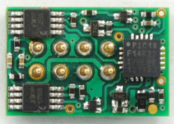 TCS 1287 DP2X-UK 8 Pin NMRA 2 Function DCC Decoder