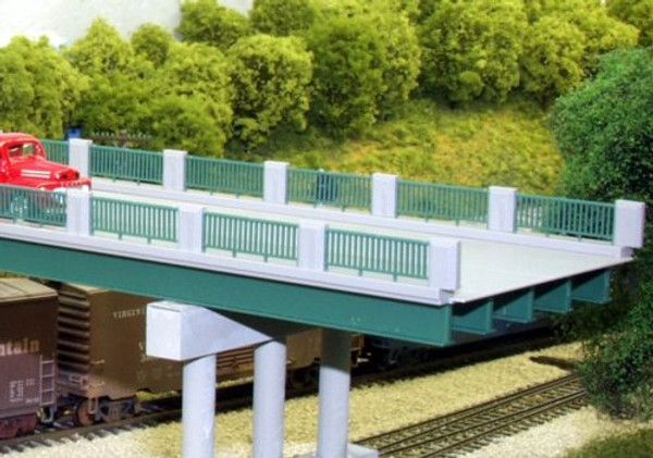 RIX 125 HO Steel Beams (Green) - 10 pcs - 50 scale feet