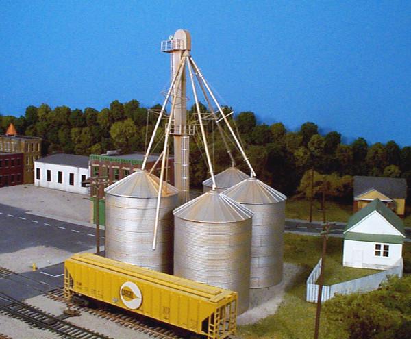 RIX 407 HO Grain Elevator (Kit)