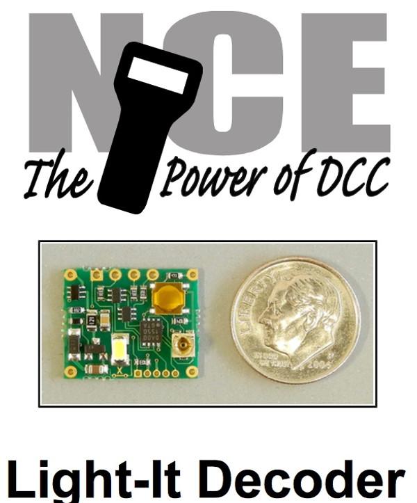 NCE 161 Light-It Decoder - NMRA Signals & Accessory Lighting - 3 Pack