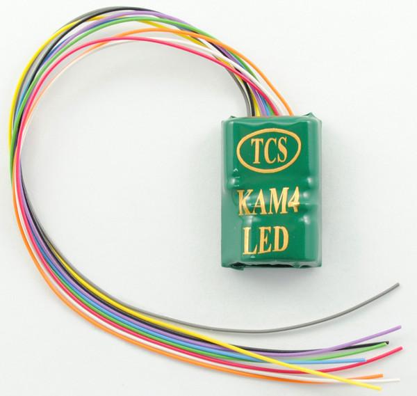 TCS 1479 KAM4 DCC Decoder with onboard resistors