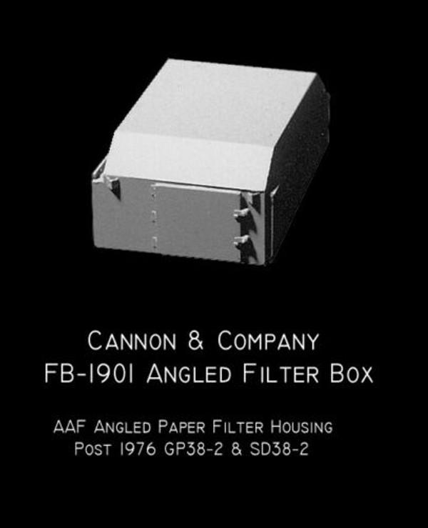 Cannon & Company HO FB-1901 AAF Angled Filtered Box Hatch