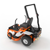 Z-BEAST 48 in. Zero Turn Riding Mower with powerful dual hydrostatic drives. Powered by a 656cc 20 HP Briggs & Stratton engine. Bonus items: roll bar and seat belt - RECONDITIONED