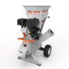 Brush Master 5 x 3.5 in. diameter feed with Electric Start Commercial Duty Chromium Gas Wood Chipper - NEW (not sold in California)