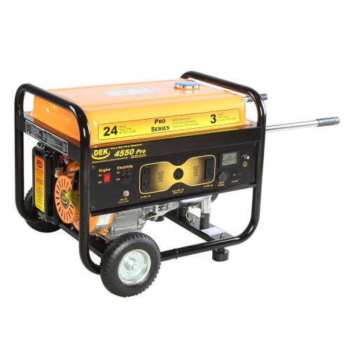 Gasoline Powered Electric Start Generator