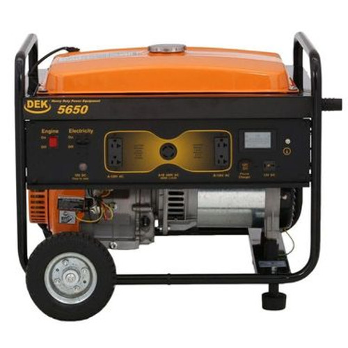 Gasoline Powered, Electric Start Generator