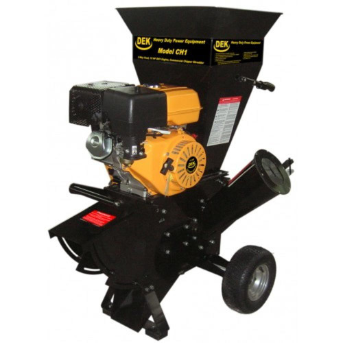 DEK 15 HP 420cc Commercial Duty Chipper Shredder with 4 in. Diameter Feeder - New w/Trailer Hitch (not sold in California)
