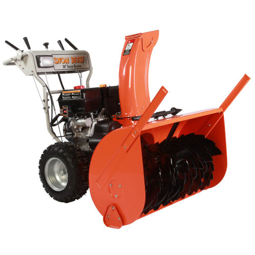 Snow Beast 30 in. Commercial 302cc Electric Start 2-Stage Gas Snow Blower, Bonus Drift Cutters and Clean-Out Tool (not sold in California)