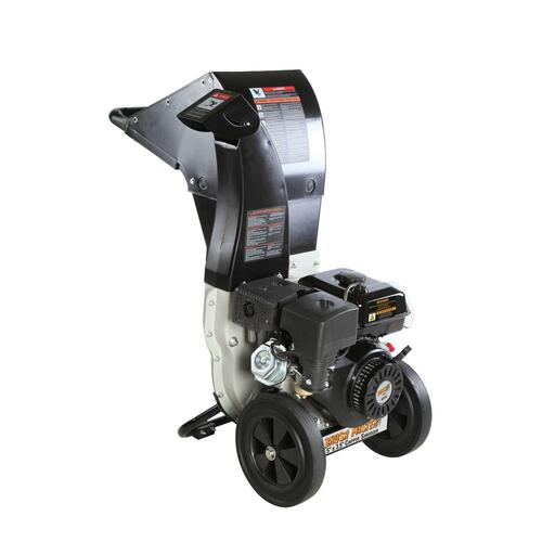 BRUSH MASTER - 445cc, 5.25 in. x 3.75 in. Dia feed, innovative unique and versatile 3-in-1 discharge, Self feed (not sold in California)