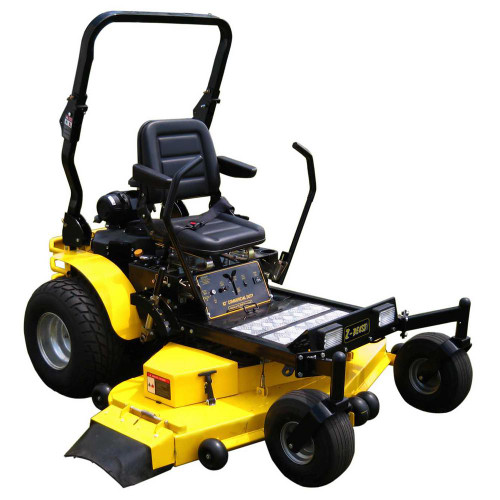 62 in. 31 HP Kawasaki FX850V V-Twin Gas Engine, Hydrostatic Zero Turn Commercial Mower with Free Rollbar and Headlights - Reconditioned (S/N 62ZB2030043)