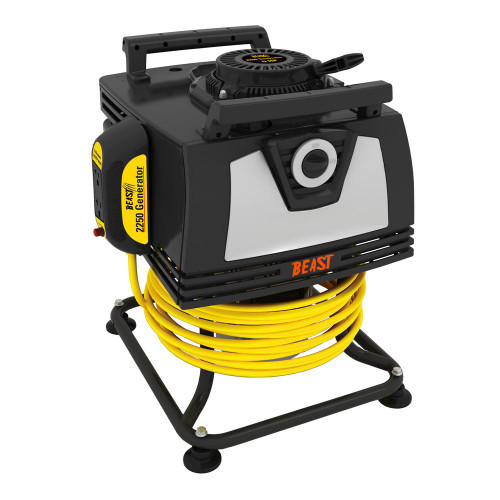 2250-Watt 140cc Gasoline Powered Engine Portable Generator with Bonus 25 ft. Heavy-Duty Cord (SCRATCH-N-DENT)