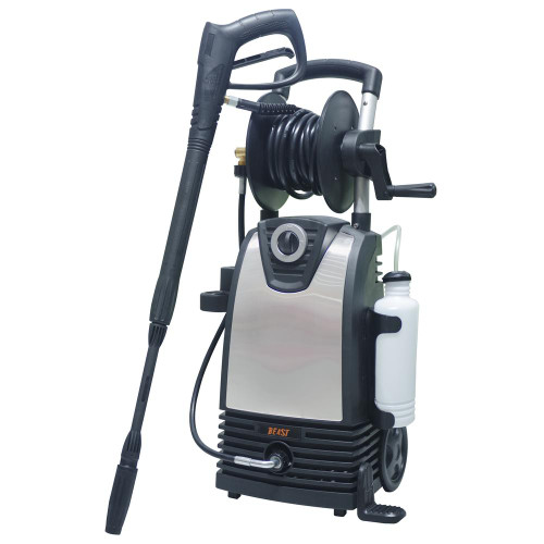 1,800 psi 1.4 GPM Electric Pressure Washer with Accessories Included-(SCRATCH-N-DENT)