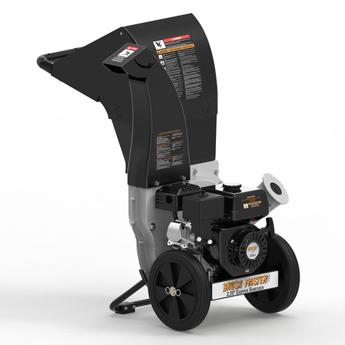 Brush Master Series Residential Style Wood Chipper with Top Discharge Chute, 6.5 HP, 212cc, 2.25 in. Auto-Feed and 3 in 1 Discharge Options- New (not sold in California)