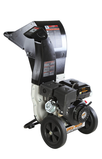Brush Master 445cc, 5.25 in. x 3.75 in. Dia feed, innovative unique and versatile 3-in-1 discharge, Self feed - NEW (not sold in California)