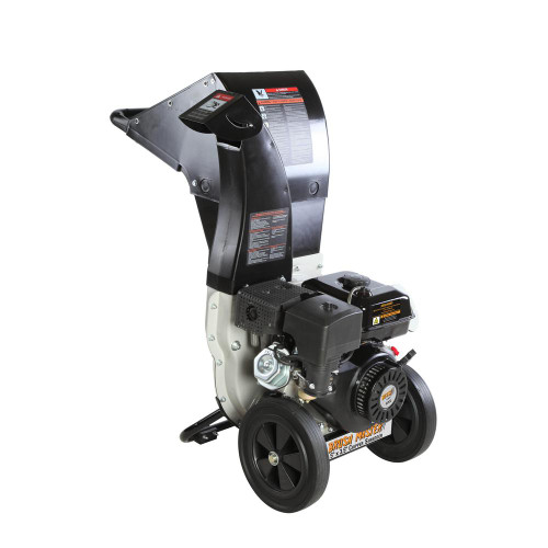 Brush Master 445cc, 5.25 in. x 3.75 in. Dia feed, unique and versatile 3-in-1 discharge, 120 V Electric Start Pro-Duty, Self Feed - NEW (not sold in California)