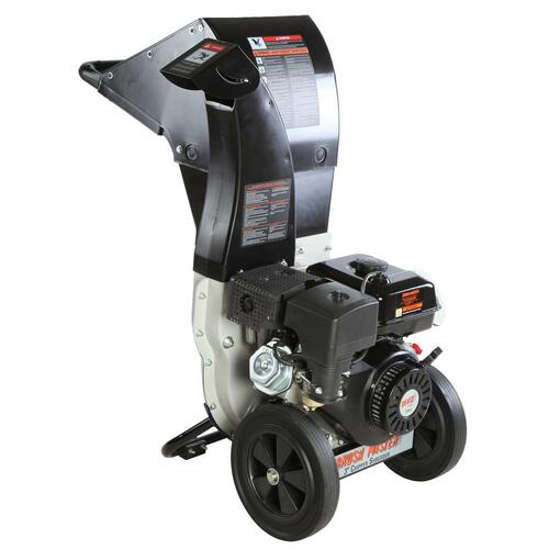 3 in. 11 HP 270cc Gas Powered Self Feed Chipper Shredder with Unique Innovation 3-in-1 Discharge, Safety Goggles