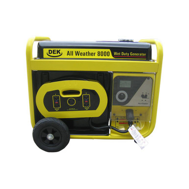 BEAST 10 000 Watt Surge All Weather Electric Start Generator Removable Control Panel 420cc 15 HP 100 Copper Alternator Not Sold In