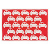 Blanki traffic jam blanket (blood orange) - Full