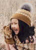 Alice Kids Beanie - Nutmeg
