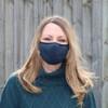 Melba Mask - Indigo - Front