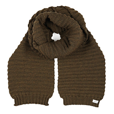 Kendall scarf - Fudge