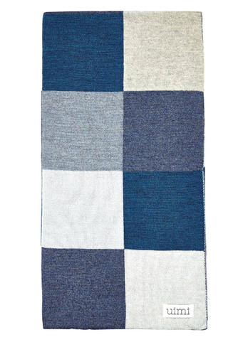 Frankie Blanket - Denim (folded)