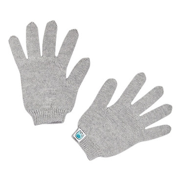 Hayley kids glove - Silver