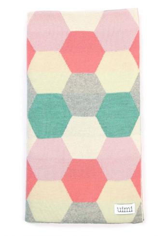 Honey Blanket - Peony (folded)