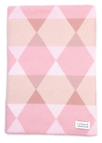 Isaac Blanket - Rose (folded)