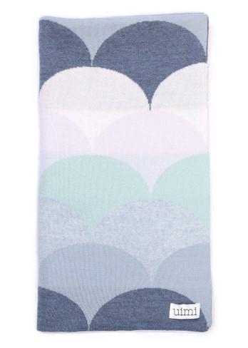 Memphis Blanket - Indigo (folded)