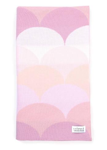 Memphis Blanket - Rose (folded)
