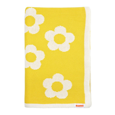 Blanki daisy chain blanket - Folded