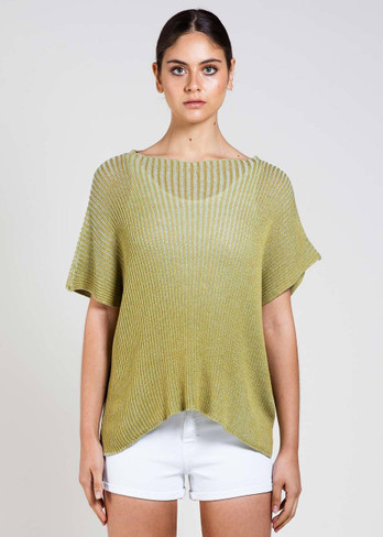 Niki Top in Avocado