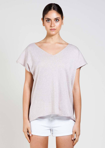 Tully Tee in Shell
