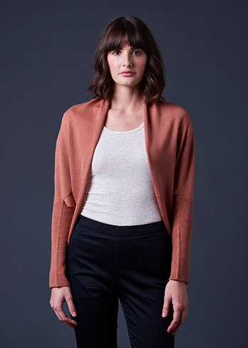 Clara Shrug - Butterscotch (front)