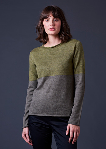 Harlow Top - Fern (front)