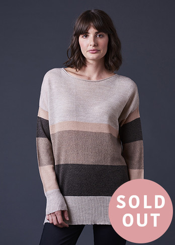 Piper Jumper - Almond (front)