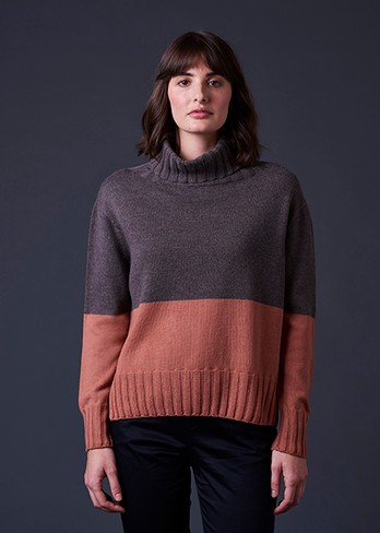 Roxy Jumper - Butterscotch (front)