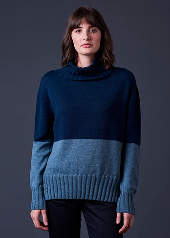 Roxy Jumper - Duck Egg (front)