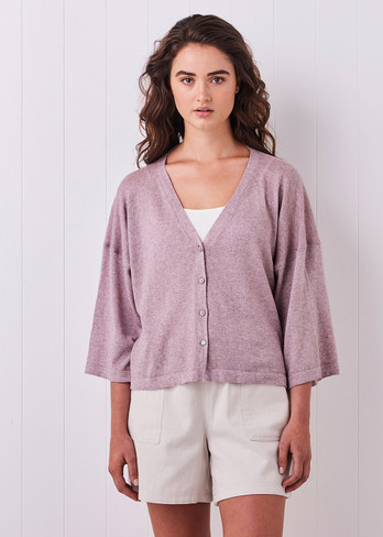 Esme Cardigan - Heather