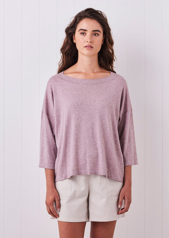 Esme Top - Heather