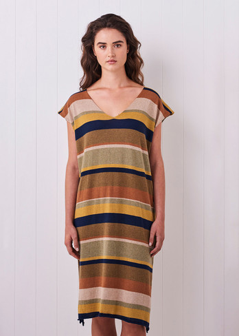 Rory Dress - Tobacco