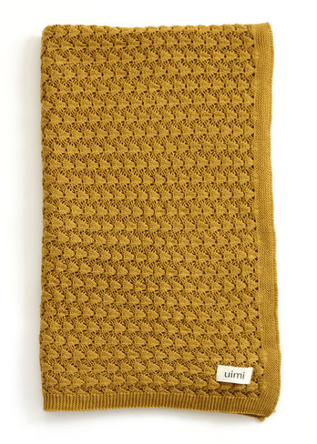 Ruby Blanket - Ochre