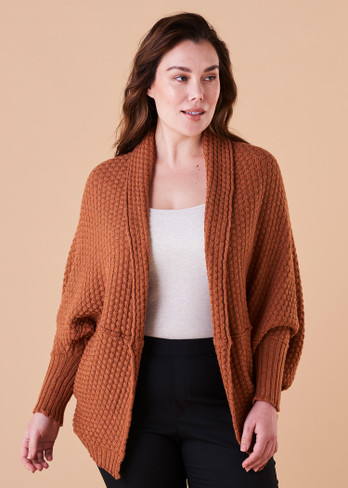 Bellamy Shrug - Amber (front)
